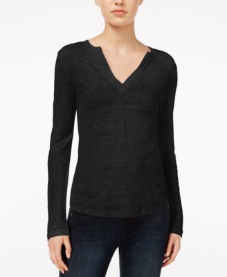 Sanctuary Parisian City Linen Top