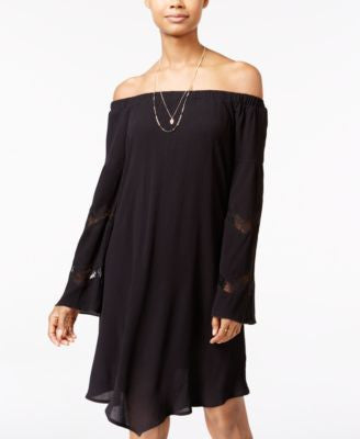 American Rag Off-The-Shoulder Shift Dress, Only at Vogily