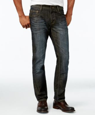INC International Concepts Men's Slim-Fit Dark Wash Jeans, Only at Vogily