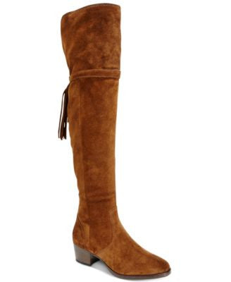 Frye Clara Tassel Over-The-Knee Boots