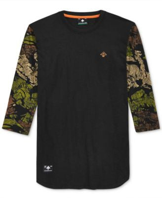 LRG Men's El Tigre Baseball Jersey Shirt