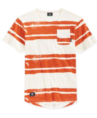 LRG Men's Short-Sleeve Stripe Pocket T-Shirt