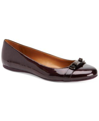 COACH Oswald Round-Toe Ballet Flats