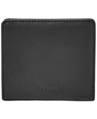 Fossil Emma RFID Leather Bifold Mini Wallet