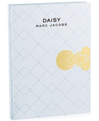 Receive a Complimentary Notebook with any MARC JACOBS large spray purchase