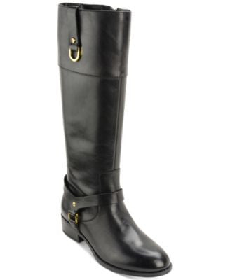 Lauren Ralph Lauren Mesa Wide-Calf Riding Boots