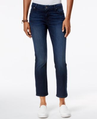 Kut from the Kloth Reese Cropped Security Wash Flare-Leg Jeans
