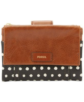 Fossil Ellis Multifunction Leather Wallet