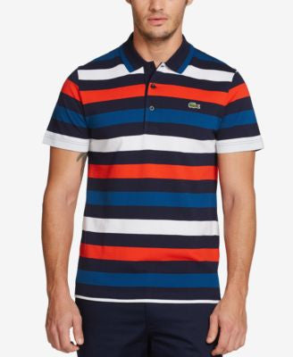 Lacoste Men's Superlight Striped Polo