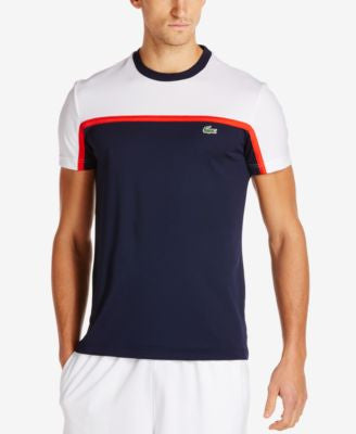 Lacoste Men's Colorblocked Ultra Dry Short-Sleeve Shirt