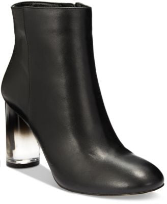 INC International Concepts Women's Taytee Block-Heel Booties, Only at Vogily