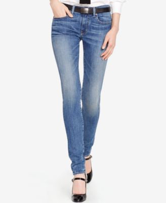 Polo Ralph Lauren Tompkins Skinny Jeans, Calloway Indigo Wash