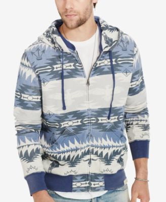 Denim & Supply Ralph Lauren Men's Southwestern Terry Hoodie