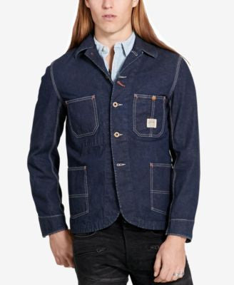 Denim & Supply Ralph Lauren Men's Selvedge Chore Jacket