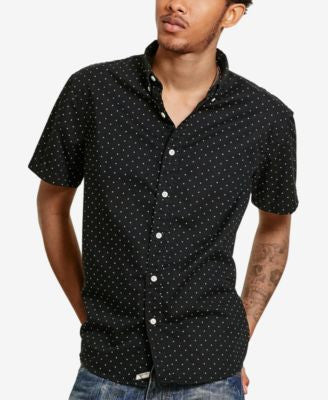 Denim & Supply Ralph Lauren Men's Printed Short-Sleeve Shirt