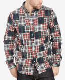 Denim & Supply Ralph Lauren Men's Plaid Patchwork Long-Sleeve Shirt