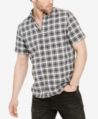 Denim & Supply Ralph Lauren Men's Short-Sleeve Plaid Shirt