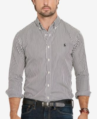 Polo Ralph Lauren Men's Big & Tall Gingham Poplin Estate Shirt