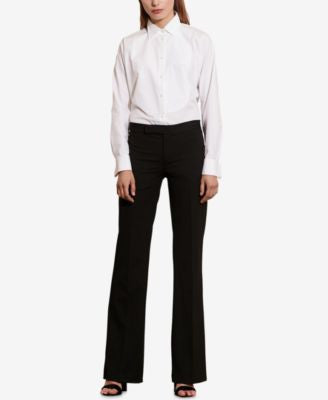 Lauren Ralph Lauren Stretch Twill Flared Pants