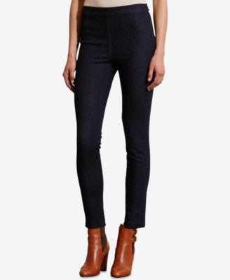 Lauren Ralph Lauren Straight-Leg Pull-On Jeans