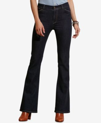 Lauren Ralph Lauren High-Rise Flared Jeans