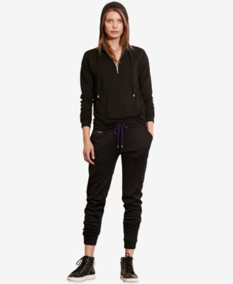 Lauren Ralph Lauren French Terry Half-Zip Hoodie