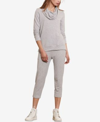 Lauren Ralph Lauren Cowl Neck French Terry Pullover