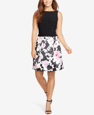 American Living Floral-Print Skirt Dress