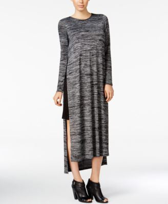 kensie Space-Dyed Layered Tunic