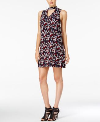kensie Floral-Print Shift Dress