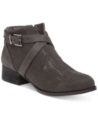Vince Camuto Casha Perforated Booties