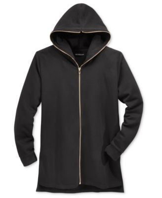 Jaywalker Men's Long Length Full-Zip Hoodie