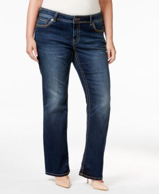 American Rag Trendy Plus Size Betsy Wash Bootcut Jeans, Only at Vogily
