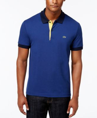 Lacoste Men's Colorblocked Pique Polo