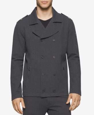 Calvin Klein Men's Textured Ponte Jacket