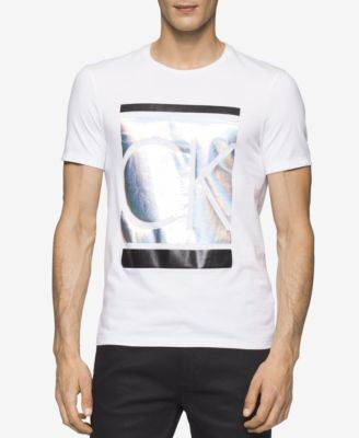 Calvin Klein Men's Iridescent Graphic-Print T-Shirt