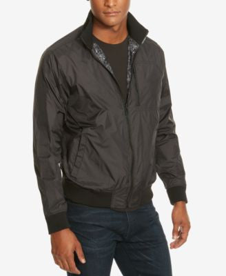 Kenneth Cole New York Men's Reversible Windbreaker