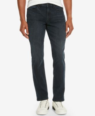 Kenneth Cole Reaction Men's Slim-Fit Dark Indigo Wash Jeans