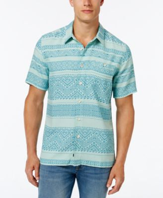 Quiksilver Waterman Men's El Prado Short-Sleeve Shirt