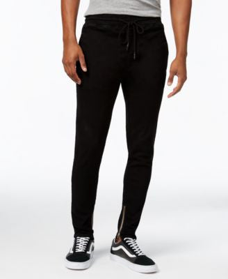 Jaywalker Men's Tapered Ankle-Zip Pants
