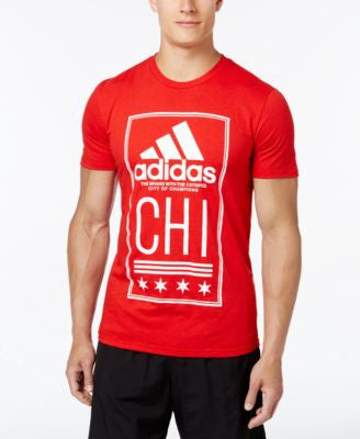adidas Men's Chicago Graphic T-Shirt