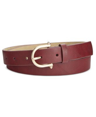 Style & Co. Skinny Knob Buckle Pants Belt, Only at Vogily