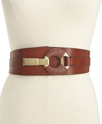 Style & Co. Semi-Wrap Interlock Stretch Belt, Only at Vogily