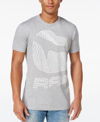 GStar Men's Raw Lethi Graphic-Print Logo T-Shirt