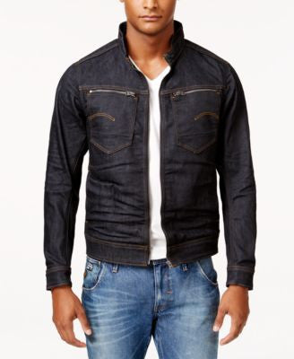 GStar Men's Arc Deconstructed Raw Denim Jacket