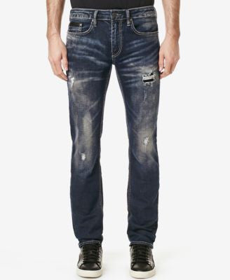Buffalo David Bitton Men's Evan-X Slim-Fit Destroyed Jeans