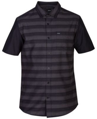 Hurley Men's Short-Sleeve Stripe Shirt