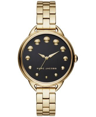 Marc Jacobs Women's Betty Gold-Tone Stainless Steel Bracelet Watch 36mm MJ3494