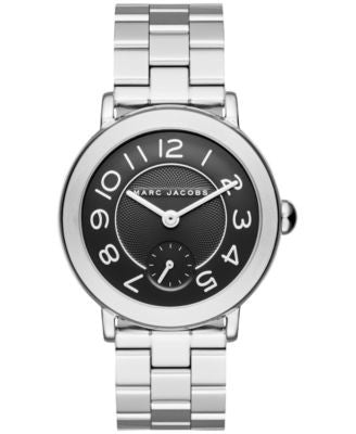 Marc Jacobs Women's Riley Stainless Steel Bracelet Watch 36mm MJ3487