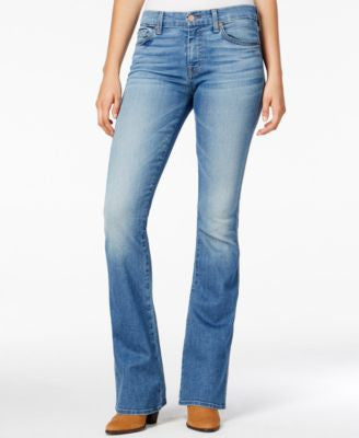 7 For All Mankind A-Pocket Light Laurel Wash Bootcut Jeans